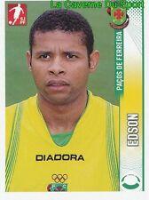 195 EDSON ANGOLA FC.PACOS FERREIRA STICKER FUTEBOL 2009 PANINI