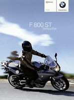 BMM0064 BMW F 800 ST Prospekt 2006 8/06 brochure prospectus prospecto prospetto