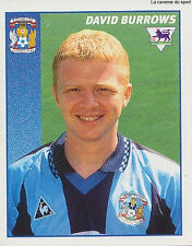 N°113 DAVID BURROWS COVENTRY CITY.FC STICKER MERLIN PREMIER LEAGUE 1997