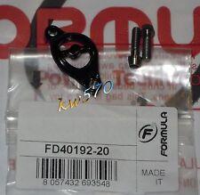 Formula Tirilla Collar De Bombeo The One/R1/T1/RO NOIR/NEGRO+tornillos titanio/