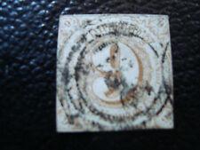ALLEMAGNE (tour et taxis etat du sud) timbre yt n° 44 obl (A4) stamp germany (T)