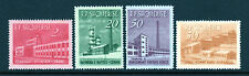 "Albania SC# 691-700 MH (4) Stamp ""Industrial Development"" Set Issued in 1963/"
