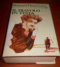 HENRI LéVY, Il diavolo in testa - De Agostini, 1985