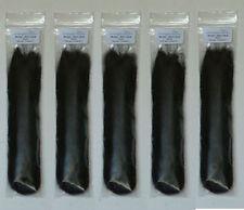 Mohair - For Hairing Model Horses - Black Mohair Set