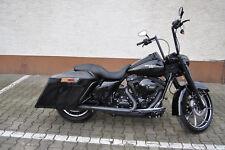 Maleta perchas maleta soporte barra antipánico Harley Davidson Touring 14 -16 maleta Chrome