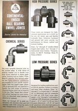 CONTINENTAL EMSCO Pipe Swivel Joint Ad BLUE AFRICAN ASBESTOS Packing 1966