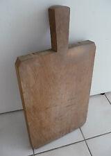 Ancienne Planche à Découper  cuisine boucher   vieux métier art populaire sep18