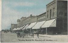 1909 Blackfoot, Idaho - Main Street & Saloon - Horse Drawn Wagon