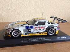 Mercedes SLS AMG GT3 Rowe Racing 24h Nürburgring 2013 Minichamps 1:18