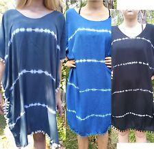 WOMENS BALI SUMMER BEACH SUN DRESS KAFTAN PONCHO PP SIZE L-3XL 14 16 18 20 22