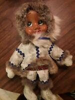 Vintage Naber Doll Eskimo