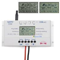 LCD 30A 12V / 24V MPPT Solar Panel Regler Laderegler & USB Drei timer HS