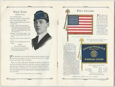 1929 American Legion Emblems Flags Medals Badges Buttons Trophies Trade Catalog