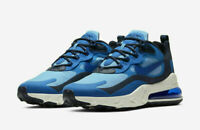 Nike Air Max 270 React Men's running shoes CI3866-400 Multiple sizes Blue