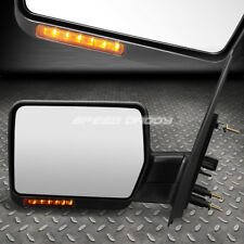 FOR 04-14 FORD F150 FOLDABLE+LED SIGNAL REAR VIEW TOWING MIRROR LEFT LHS/DRIVER