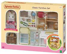 Nouveau! 5220 sylvanian families mobilier classique set inc rabbit figure enfants 3+