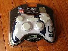 NFL INDIANAPOLIS COLTS XBOX 360 Controller Face Plate Cover-Free Shipping!