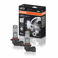 OSRAM 6000K Cool White H10 LED Foglight Bulbs Kit Fog Lamps Retrofit 9745CW