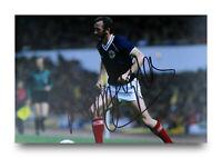 Danny McGrain Hand Signed 6x4 Photo Celtic Scotland Autograph Memorabilia + COA