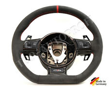 Audi s3 rs3 s4 rs4 r8 TT TTs ttrs s rs5 line volante de cuero nuevo dejar refieren