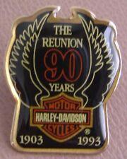 HARLEY DAVIDSON OWNERS GROUP HOG PIN 90th Anniversary 1993 Vest Jacket Sealed