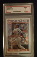 1991 Topps Ken Griffey Jr. All Star #392 MINT 9 Must have card!!!!