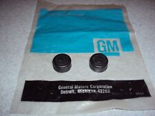 OBSOLETE GM NOS 3792828 Chevrolet Buick Oldsmobile Pontiac Hood Bumpers TWO PCS.