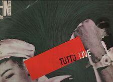 GIANNA NANNINI doppio disco 2 LP 33 MADE in ITALY Tutto Live STAMPA ITALIANA 85