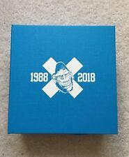 "Gorilla Biscuits Blue wax 7"" 30th Anniversary Box Set Revelation Records Super7"