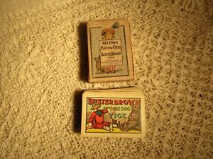 ANTIQUE SMALL DECK BUSTER BROWN PLAYING CARDS -COPYRIGHT 1906