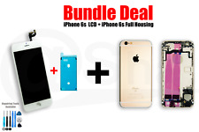 BUNDEL DEAL- iPhone 6s LCD Screen (white) And full Housing (gold)