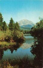 Postcard Manzanita Lake California