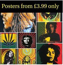 BOB MARLEY Poster 40x30 Mandala Hippie Tapestry Wall Hanging Dorm Decor