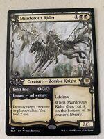 Murderous Rider Showcase Alternate Art MTG Throne of Eldraine Rare In Hand