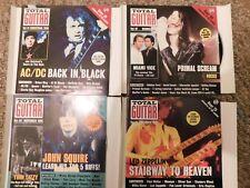 4 x Total Guitar CDs