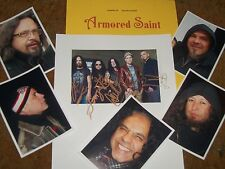 ARMORED SAINT Autographed Photo & Photos - - VERY Collectible