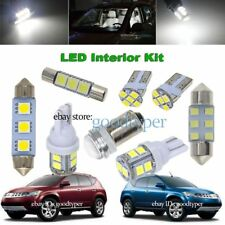13x white LED Map Dome Light interior bulb package kit fit 03-08 Nissan Murano