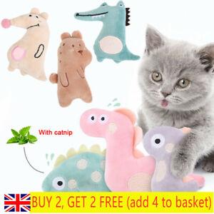 Soft Cute  Catnip Toy Kitten Play Cat Grinding Teeth Scratch Toys Pet Supplies *