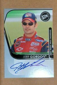 2004 PRESS PASS SIGNINGS JEFF GORDON