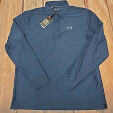 Under Armour Performance Playoff Blue Xlarge Long Sleeve Shirt 1285067-408
