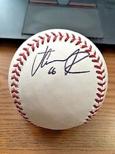 JC RAMIREZ 2 SIGNED AUTOGRAPHED OML BASEBALL! Angels, Phillies, Diamondbacks!