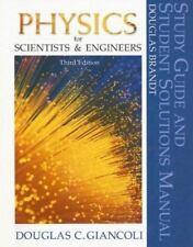 Physics for Scientists and Engineers (Study Guide and Student Solutions Manual)