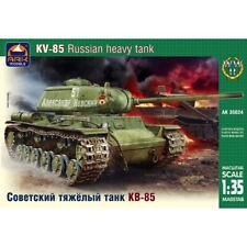 KV-85 Soviet Tank Model Kit 1/35 Scale - Russian Tank KV85 Military Models Kits