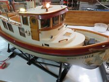 Dumas Victory Tug Boat 1225, Finished Interior, Working Lights, Anchor, Radio.