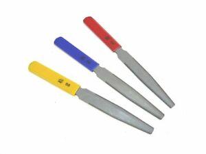 Sattelfeilen Set  ML-Factory®  Größen 0.010/ 0.026 - 0.013/0.036 - 0.017/0.046