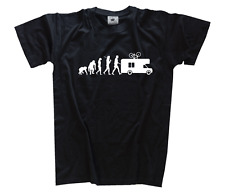 Standard édition CAMPING-CAR CARAVANE Evolution CAMPING VACANCES CAMPING T-shirt