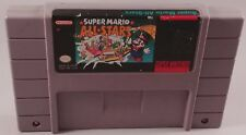 Super Mario All Stars SNES Super Nintendo Works Great! Authentic! Cleaned! Rare!