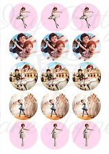 Edible Cupcake Toppers BALLERINA MOVIE pre cut - Highest Australian Quality