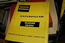 CAT Caterpillar TWIN DISC MG-506 Marine Gear Engine Service Repair Shop Manual