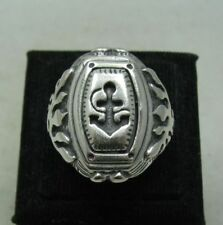 Herren-Ringe ohne Steine aus echtem Edelmetall 61 (19,4 mm Ø)